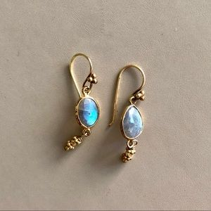 Jewelry - REDUCED ✨*🆕* Gold Drop with Stone Earrings